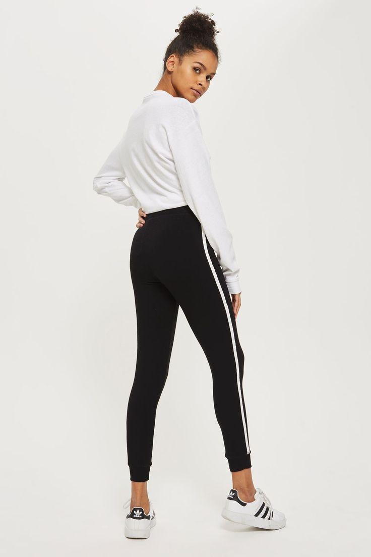 Side Stripe Slim Joggers