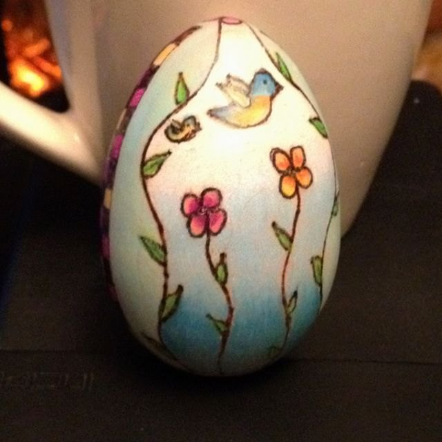 25 Best Images About Wood Eggs On Pinterest Hens Egg
