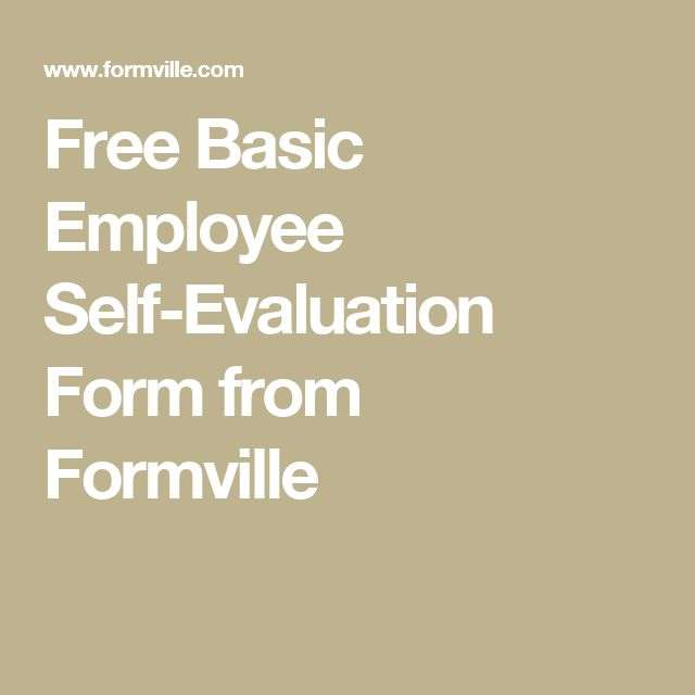 Best 25+ Employee evaluation form ideas on Pinterest Self - filling out self evaluation form