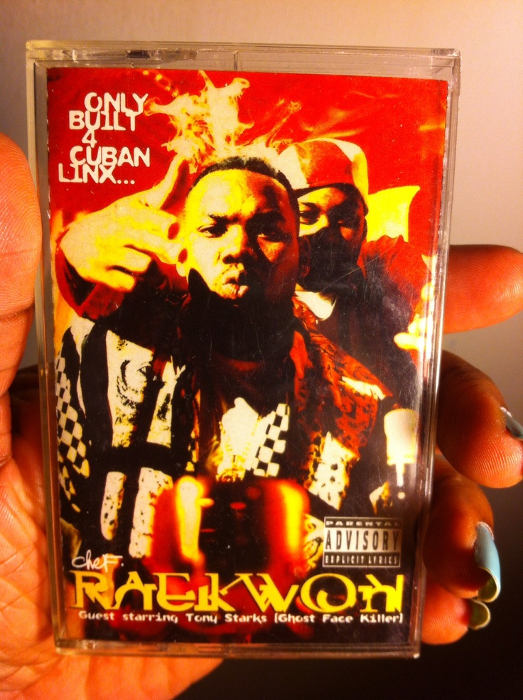 Raekwon's first solo album released in 1994 on cassette. Bought in 1994 & still in great condition.