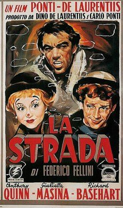 La Strada (1954, Federico Fellini) When Gelsomina, a naïve young woman, is…