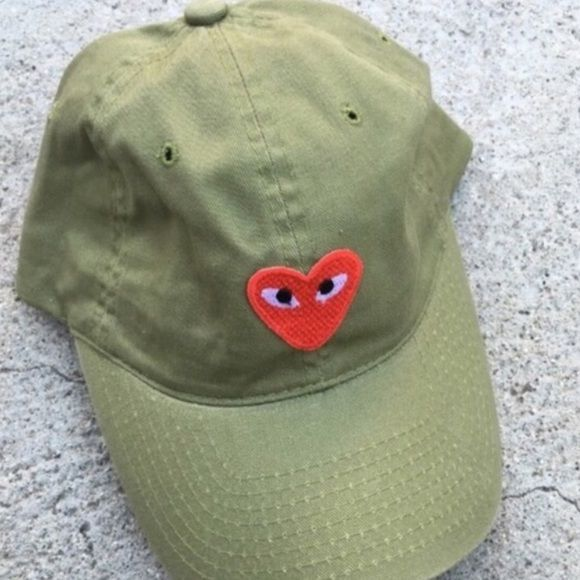 HEART PATCH HAT GREEN NEW New UNIF Accessories Hats