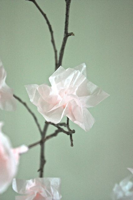 How To Create Paper Blossoms   Apartment Therapy