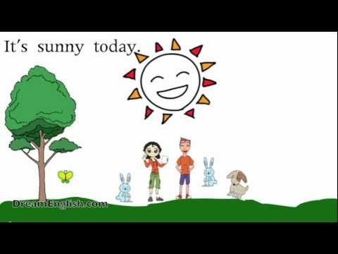How's The Weather? Song and Cartoon for Kids... Maaaaybe. It would be nice to have some kind of weather song.