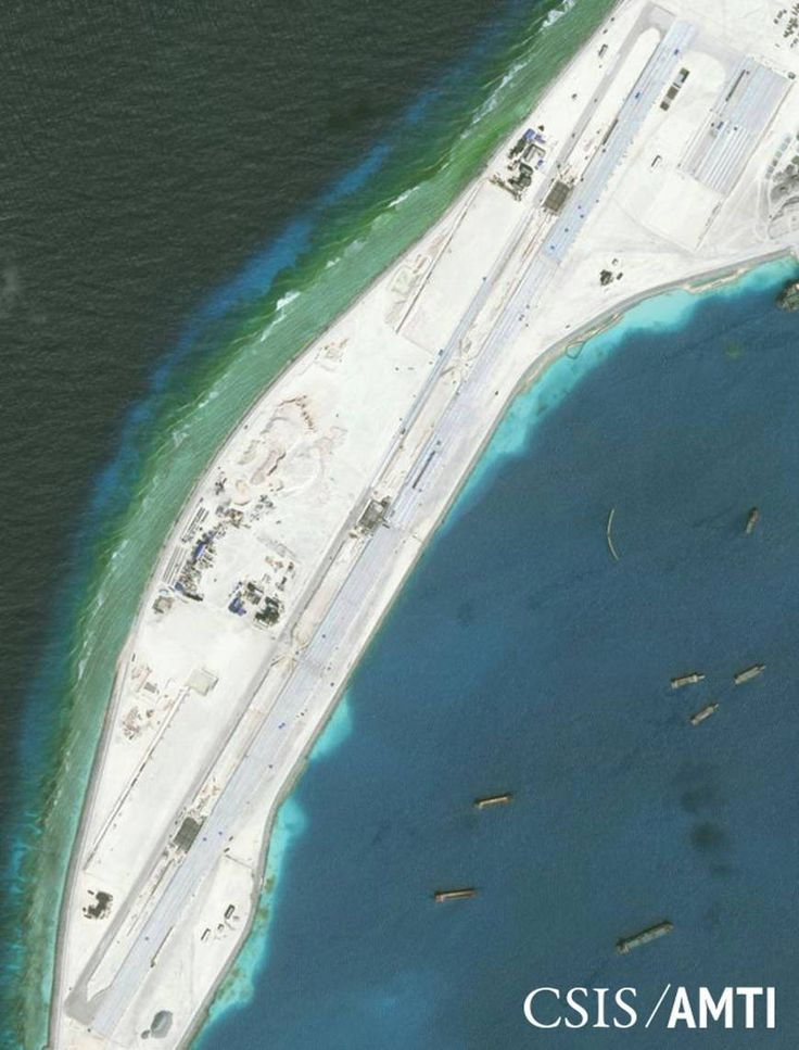 Beijing has announced plans to put two more lighthouses in the disputed South China Sea into operation by the end of the year, state media has reported. Co
