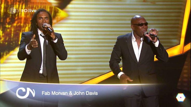 Fab Morvan & John Davis - Milli Vanilli Medley (LIVE on Willkommen bei C...