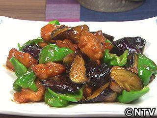 なす、ピーマン、鶏肉の甘みそ炒めのレシピ|キユーピー3分クッキング