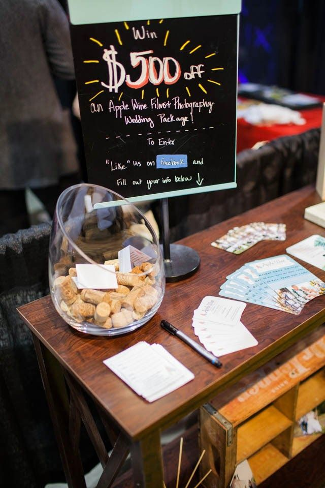 Apple Wine : Our Bridal Show Booth!   Kansas City Wedding Photographer