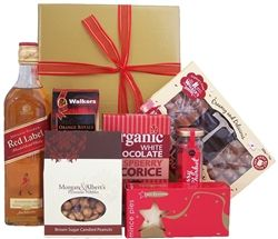 Red Label Sweets Scotch Gourmet Hamper