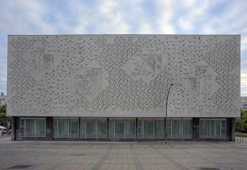 Kino International, Berlin Mitte - rear