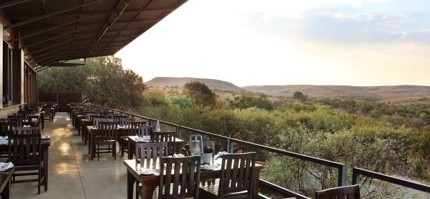 View from the verandah at Le Sel, #CradleofHumankind, http://www.gauteng.net/blog/entry/le_sel_the_cradle/ #VisitGauteng