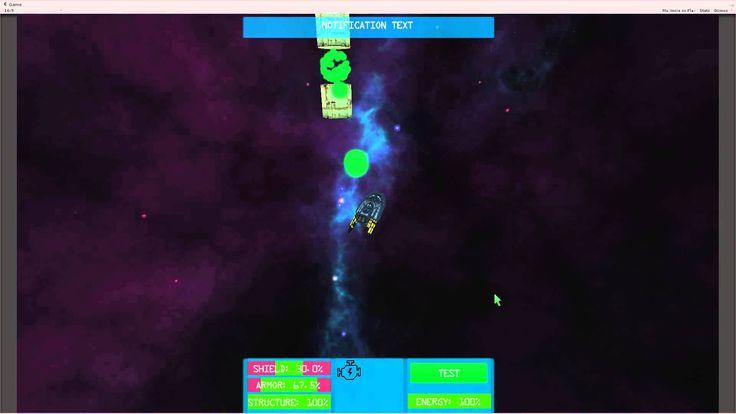 Unity Space Adventure Game Sneak Peek!