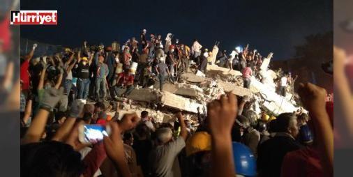 #Meksika'da kurtarma görevlileri neden yumruklarını kaldırıyor?: #Meksika'da Salı günü meydana gelen 7.1 büyüklüğündeki #depremde hayatını kaybedenlerin sayısı Cuma günü itibariyle 273'e çıktı. Başkent Meksiko ve çevresindeki birçok binayı yerle bir eden #depremin ardından, arama ve kurtarma çalışmaları sürüyor.
