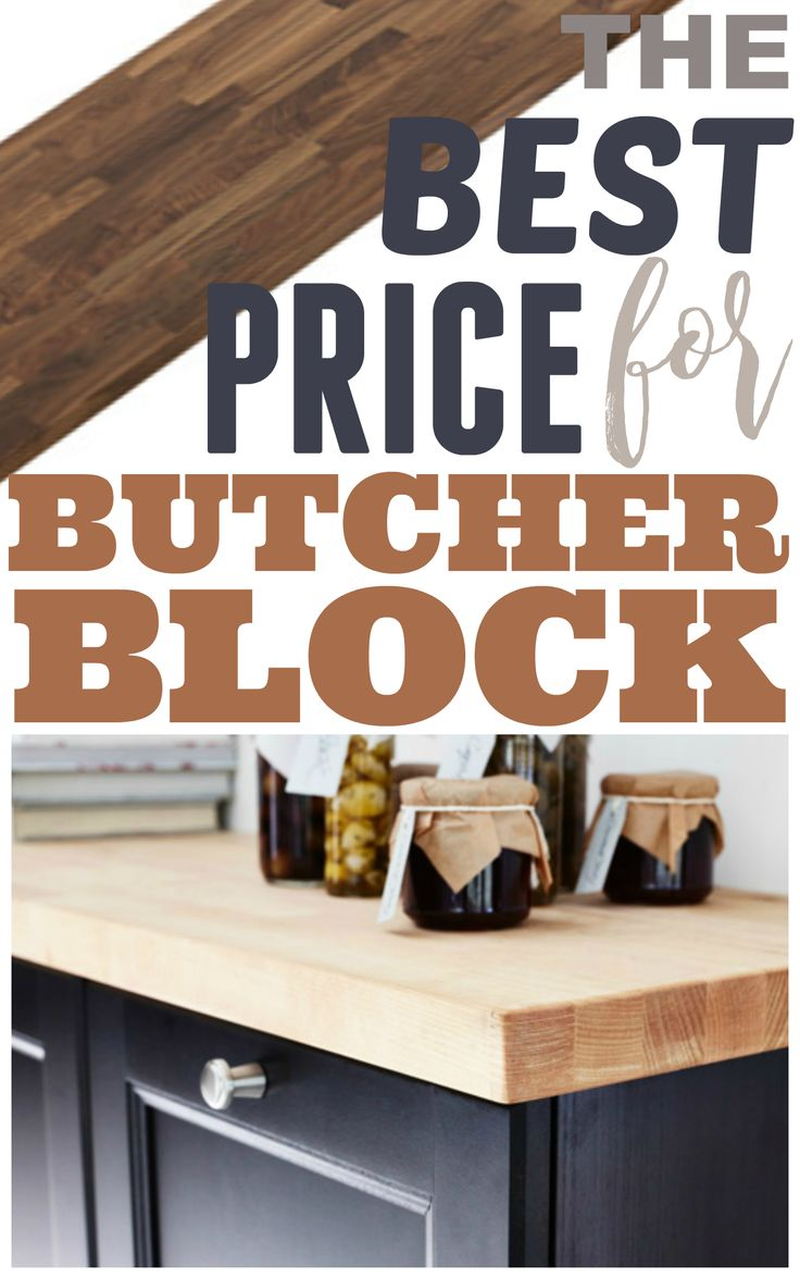 I share where I got all my kitchen countertops for less than $300! Plus top 10 reasons why I love my butcher block counters, even after over 4 years. Strong, durable, easy to maintain, and versatile.