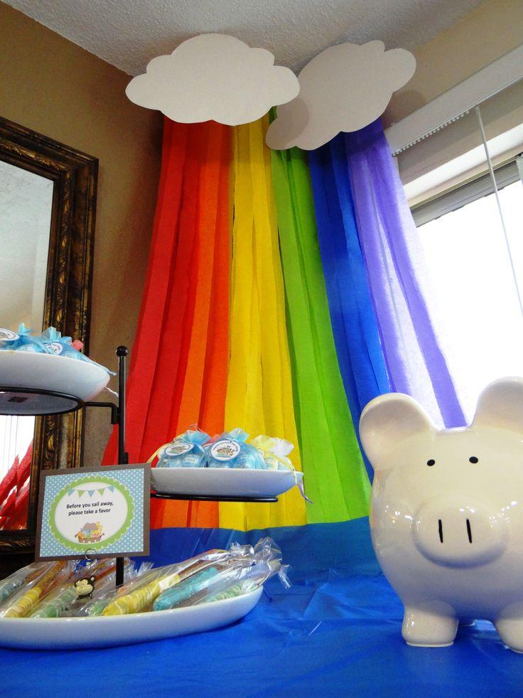 Rainbow Favor Table
