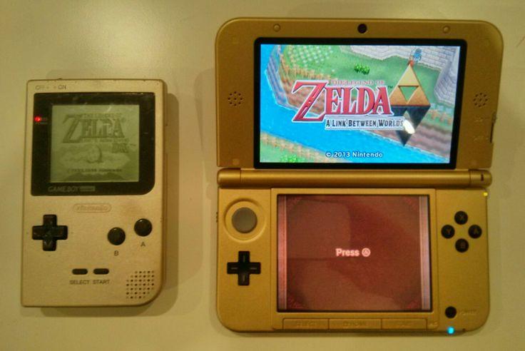 #Nintendo Handhelds #LegendofZelda Special Edition via Reddit user Man_Overboard