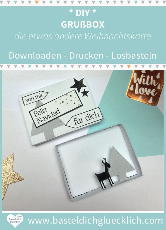 Sag Es Durch Die Box Die Etwas Andere Weihnachtskarte