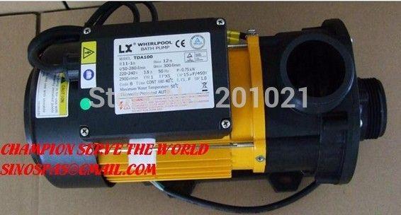 Китайский Горячая Ванна Насос, EWARA ЗВЕЗДА Водяной насос LX TDA100 1.0HP/750 Вт как циркуляционный Насос, или использовать для Ванной Спа-Бассейн насос