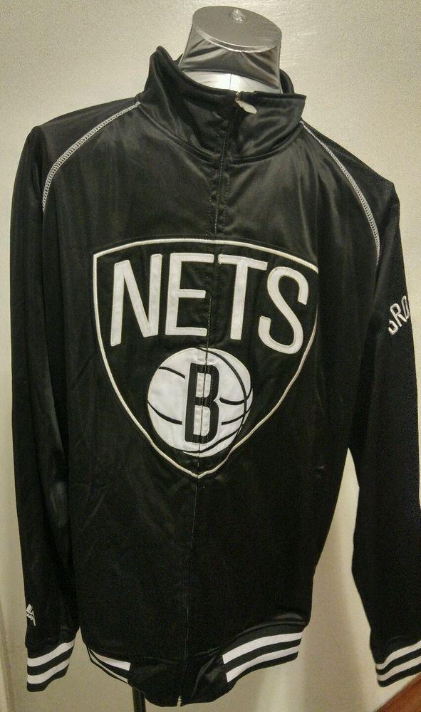 Majestic Brooklyn Nets Black #NBA Basketball Shooting Jacket Size XXXL #Majestic #BrooklynNets #Nets #brooklyn