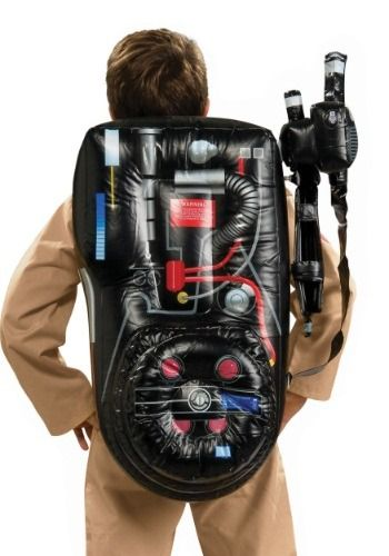 This is an officially licensed Ghostbusters Inflatable Backpack.