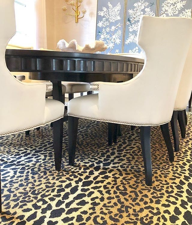 Give Your Home A Little Animal Print Flair With A Gorgeous Leopard Print Rug Image Via Curatingtheeveryday Home Annie Selke Furniture