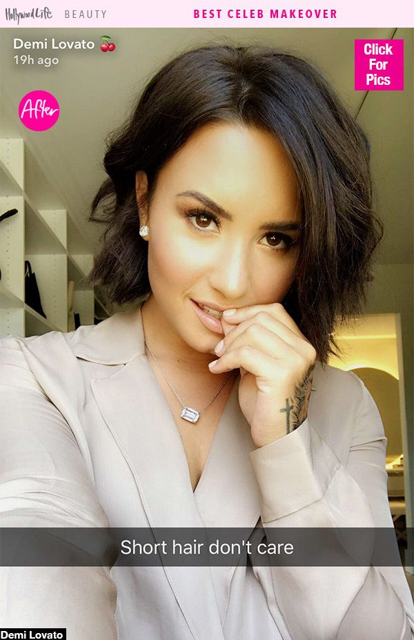 Demi Lovato Skipped The 2017 Met Gala & Cut Off All Her Hair Instead