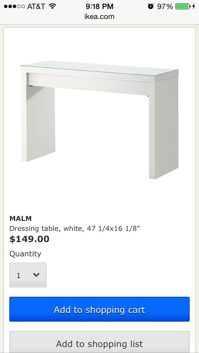 Ikea Unterbettkommode Degernes ~   about Malm Frisiertisch on Pinterest  Vanity Tables, Malm and Ikea