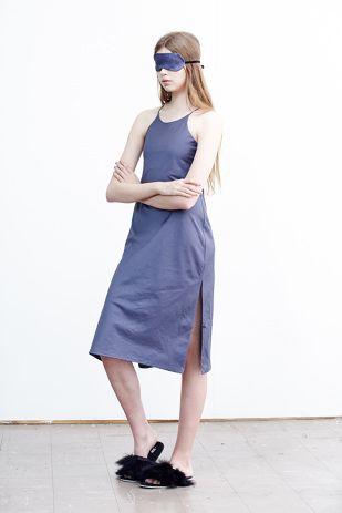 Slip Dress - Marine