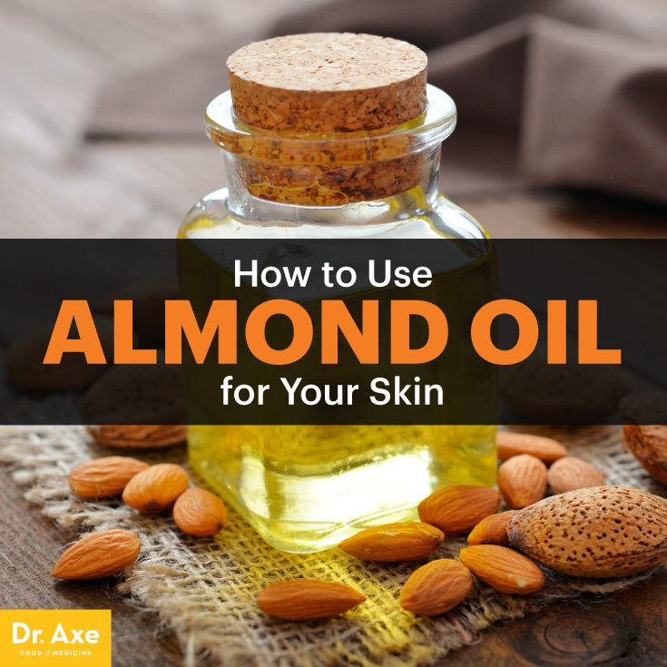 Almond oil - Dr. Axe http://www.draxe.com #health #holistic #natural #detox