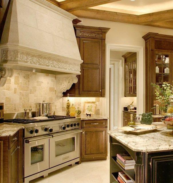 on Pinterest  Stove, Beautiful kitchens and Kitchen cabinet storage