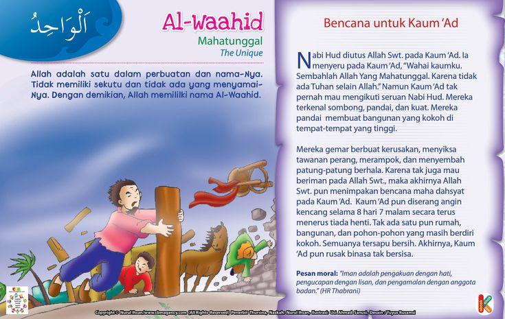 Kisah Asma'ul Husna Al-Waahid