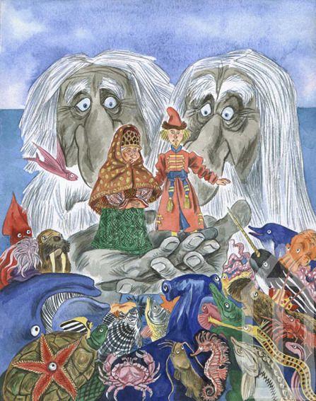 Illustration Эскиз иллюстрации к Поди туда по Успенскому-2