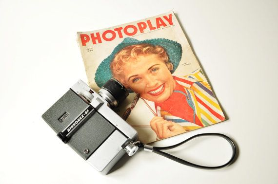 1963 Nikkorex 8F  8 mm Movie Camera  Made in by thelittlebiker