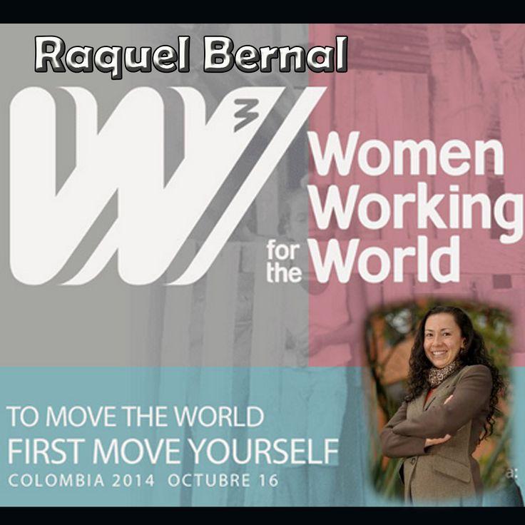 @RaquelBernal3 Conferencista #WomenWorking4TheWorld 16 Oct. @FundacionJuanfe bit.ly/1nx78NP