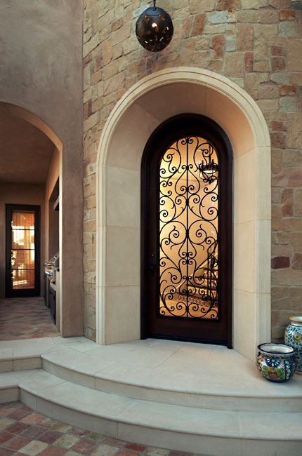 263 best images about front door on pinterest for Mediterranean interior doors