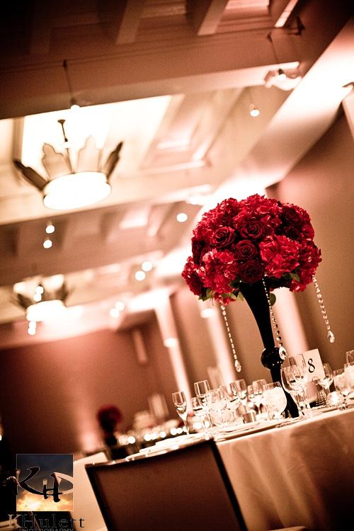 Altitude Ballroom at W Hotel Washington DC; photo by Kevin & Katie Hulett; www.khpstudio.com #weddings #whoteldc #wwashingtondc #flowers #reception