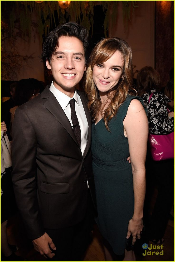 Cole Sprouse And Danielle Panabaker At The CW Networks Upfront Party 2016