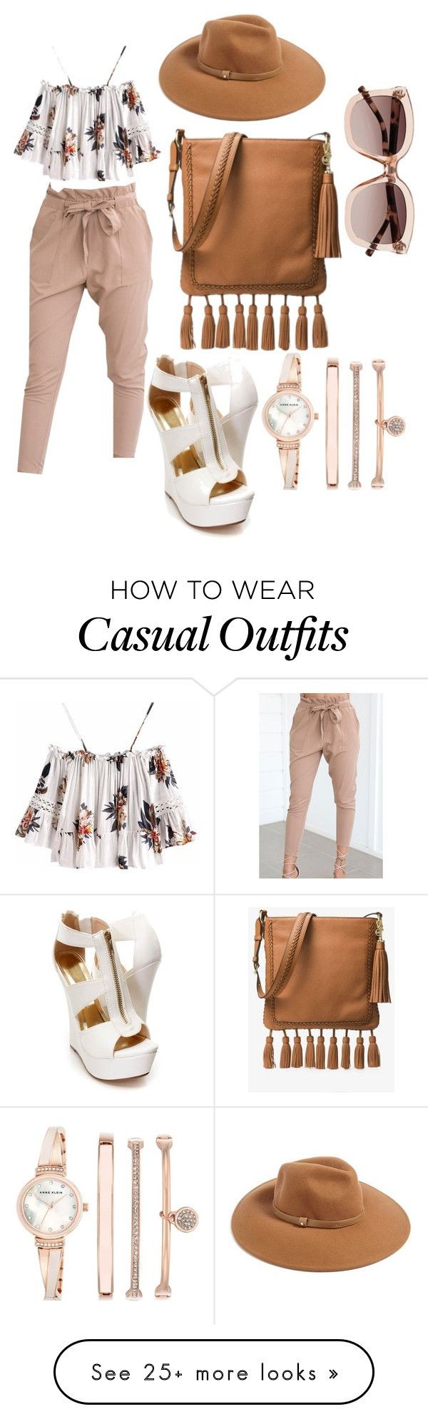 """Untitled #574"" by tessa-creations on Polyvore featuring WithChic, MICHAEL Michael Kors, Forever 21, Witchery and Anne Klein"