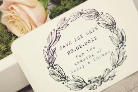 country romance save the date card Copy