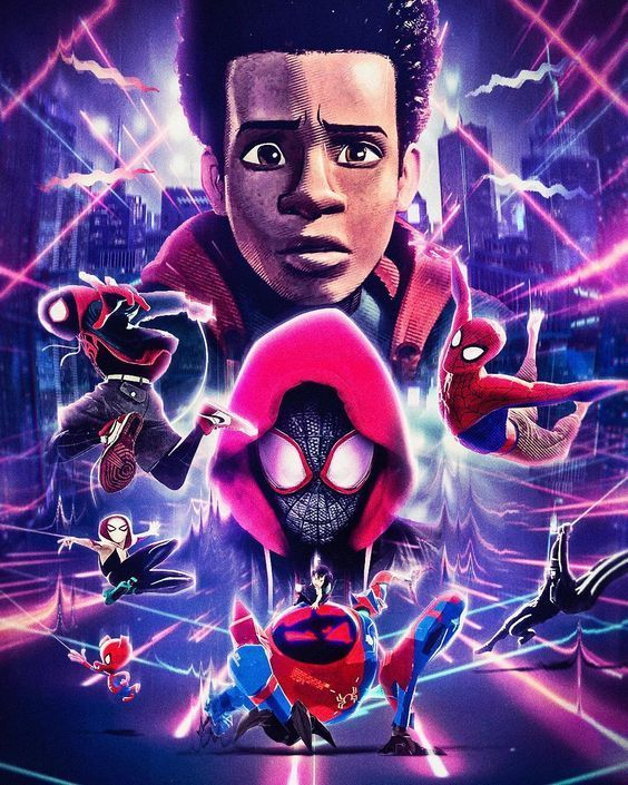 Spider Man Into The Spider Verse Personajes Marvel Pinterest