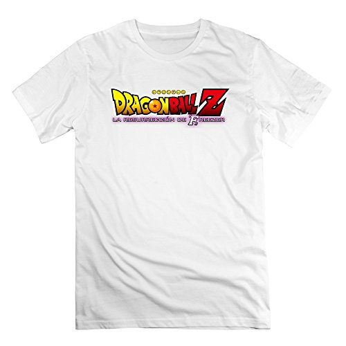CRIS Dragon Ball Z La Resurreccion De Freezer Logo T Shirts White For Men @ niftywarehouse.com