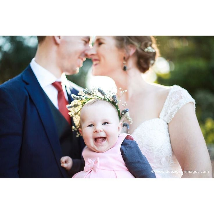 Meet Mackenzie. Yesterday her mummy and daddy got married. I think she loved it. Also she is THE BEST baby in the world. Legit not even kidding.  . . . #weddingday #weddingbaby #parentswedding #babybouquet #flowercrown #brisbanewedding