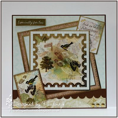 Crafting with Cotnob, Free Gift, Hunkydory, Hunkydory Perfect Pastimes, Masculine