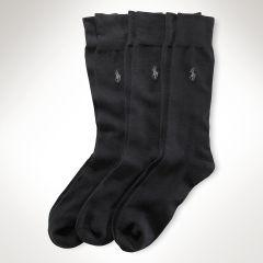 Ultra-Soft Slack Sock 3-Pack - Big & Tall Big & Tall - RalphLauren.com