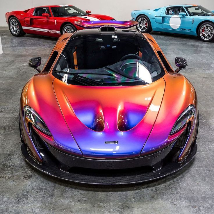 Insane Iridescent Wrap On This McLaren Via. Find This Pin And More On Awesome  Car Vinyl ...