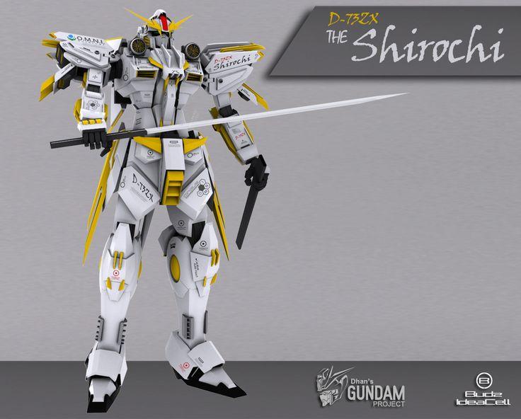 D-73ZX The Shirochi - Kusanagi Sword