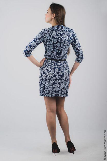 Купить или заказать Платье 'ФАСОН' (узоры) в интернет-магазине на Ярмарке Мастеров. Женственное, элегантное платье в мини длине из очень качественного дизайнерского американского хлопка. Дизайнер Joel Dewberry. По спинке потайная молния. Можно носить каждый день или по случаю не только в теплое, но и в прохладное время года.