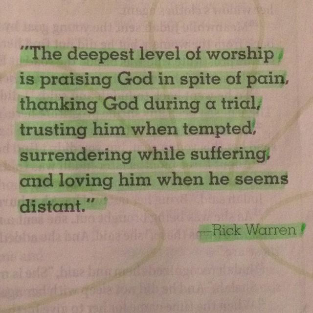 By Rick Warren. <3. this is perfect.