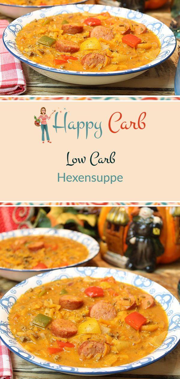 Hexensuppe. Abrakadabra, du bist köstlich. Low Carb, ohne Kohlenhydrate, glutenfrei …   – Recipes