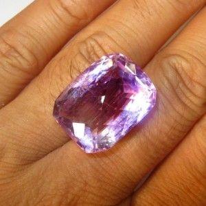 Cushion Buff Top Purple Amethyst 29.00 carat